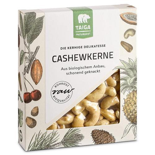 Bild von Taiga Naturkost - Cashew-Kerne - Bio - Rohkost-Qualität - 70 g
