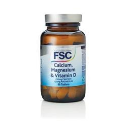 Bild von FSC - Calcium, Magnesium & Vitamin D - 60 Tabletten