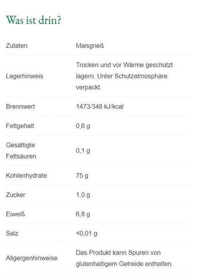 Bild von Steirerkraft - Die Steirische 1-Minuten Polenta - Weiß/Fein