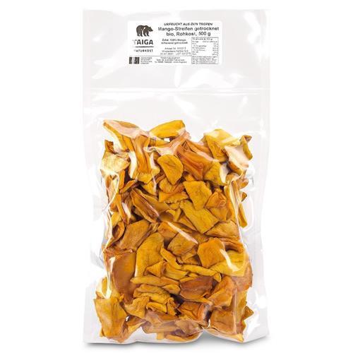 Bild von Taiga Naturkost - Mango - Bio - Rohkost-Qualität - 500 g