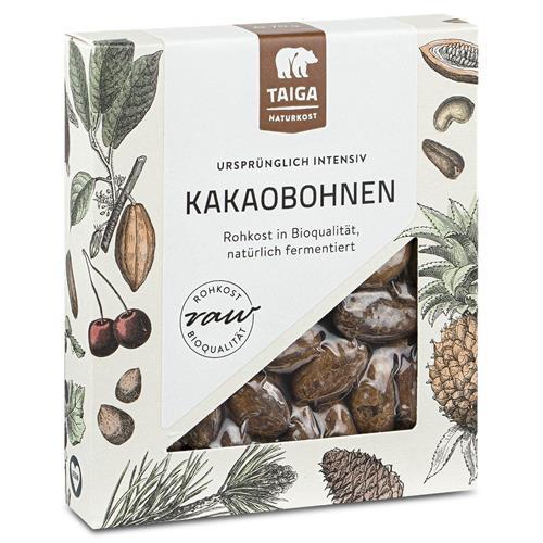 Bild von Taiga Naturkost - Kakaobohnen - Bio - Rohkost-Qualität - 70 g