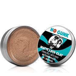 Bild von NO GUNK - Matte Lava Clay - Natürliches Haarwachs/Haarpaste - Starker Halt - 50 g