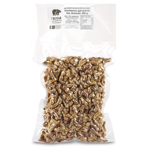 Bild von Taiga Naturkost - Maulbeeren - Bio - Rohkost-Qualität - 500 g