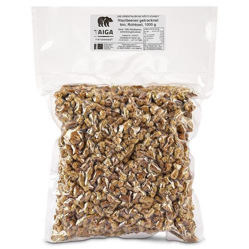 Bild von Taiga Naturkost - Maulbeeren - Bio - Rohkost-Qualität - 1000 g