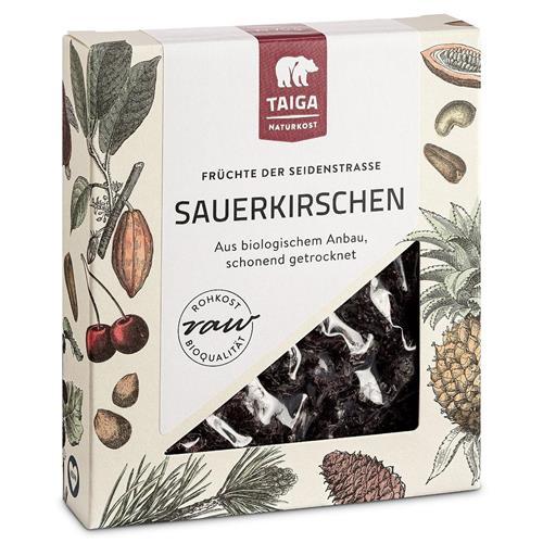 Bild von Taiga Naturkost - Sauerkirschen entsteint - Bio - Rohkost-Qualität - 1000 g