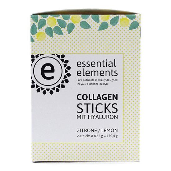 Bild von Essential Elements - Collagen Pulver Sticks mit Hyaluronsäure - 20 Sticks
