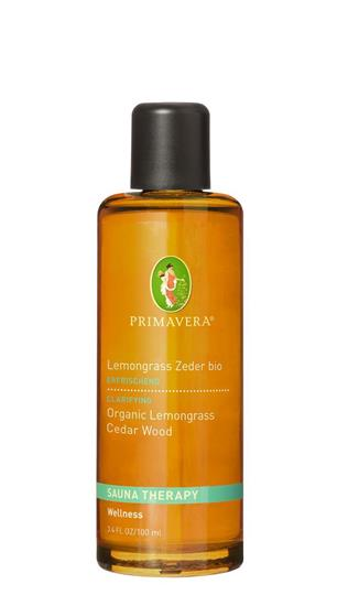 Bild von Primavera® - Aroma Sauna Lemongrass Zeder bio - 100 ml