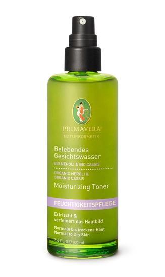 Bild von Primavera - Feuchtigkeitspflege - Belebendes Gesichtswasser - 100 ml