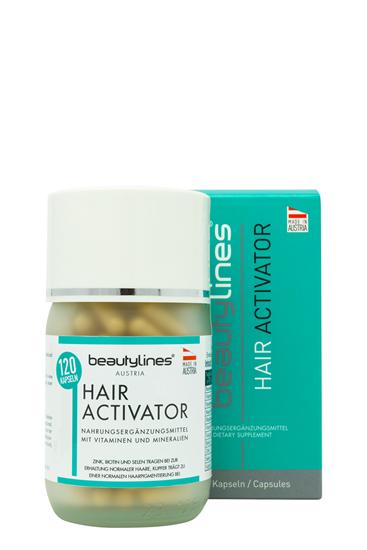 Bild von Beautylines - Hair Activator - 120 Haarwachstums-Kapseln