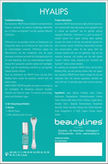 Bild von Beautylines - Hyalips mit Liperfection - Hyalips Box für vollere Lippen - 2-tlg Set