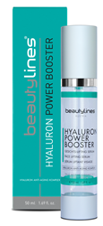 Bild von Beautylines - Hyaluron Power Booster - Hochdosiertes High Level Hyaluron für alle Hauttypen - 50ml