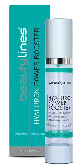 Bild von Beautylines - Hyaluron Power Booster - Hochdosiertes High Level Hyaluron für alle Hauttypen - 50ml