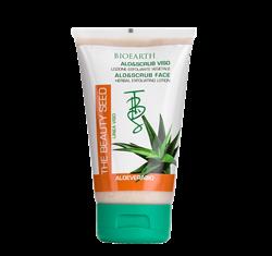 Bild von Bioearth - Aloe Vera Aloe&Scrub Gesichtspeeling Lotion - 150 ml