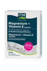 Bild von Fitne - Magnesium + Vitamin E 60 Kapseln - 40 g