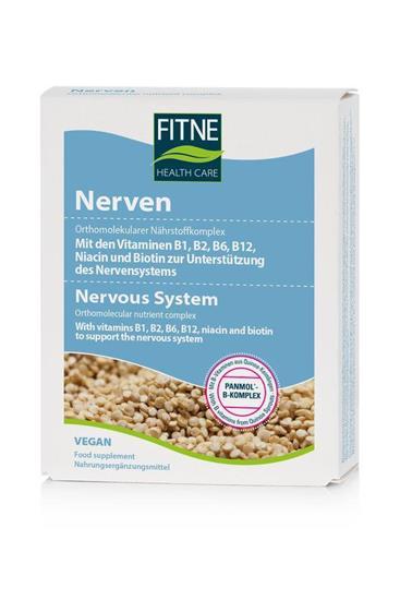 Bild von Fitne - Nährstoffkomplex Nerven 60 Kapseln - 39,2 g
