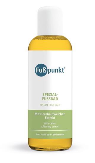 Bild von Fußpunkt - Spezial Fußbad - Mit Urea 15% und Aloe Vera - 150 ml
