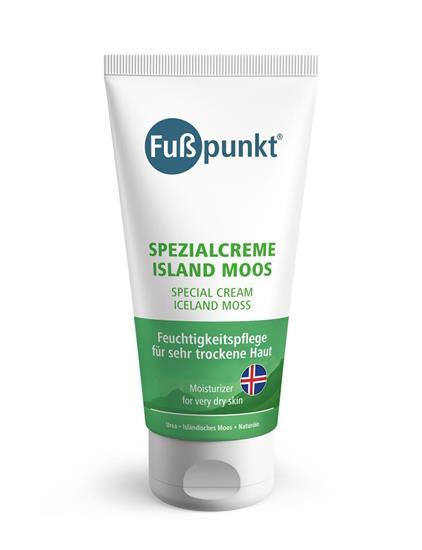 Bild von Fußpunkt - Spezialcreme Island Moos - Fußcreme für gereizte und trockene Haut - 150 ml