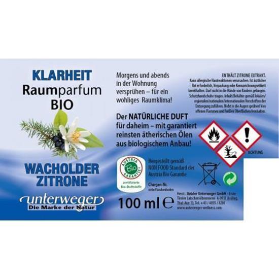 Bild von Unterweger - BIO Raumparfum Klarheit - 100 ml