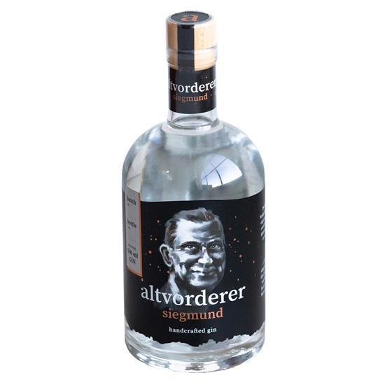 Bild von altvorderer - Gin siegmund / 41% Vol. - Eine Geheimrezeptur fein abgestimmter natürlicher Zutaten - 0,5 l