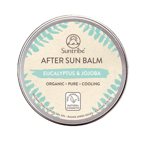Bild von Suntribe - Bio Aftersun Balsam - Eucalyptus & Jojoba - 100 ml