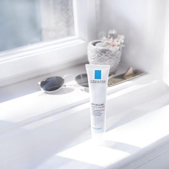 Bild von LA ROCHE-POSAY Effaclar Duo (+) LSF 30 - Für unreine Haut - Anti-Pickel Pflege mit UV-Schutz - 40 ml