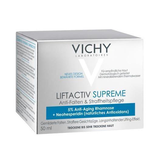 Bild von VICHY Liftactiv Supreme - Anti-Falten & Straffheitspflege für trockene Haut - 50 ml