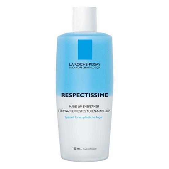 Bild von LA ROCHE-POSAY Respectissime Make-Up-Entferner - Für alle Hauttypen - Entferner für wasserfestes Augen-Make-up - 125 ml