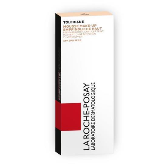 Bild von LA ROCHE-POSAY - Toleriane - Mattierendes Mousse Make-up - Beige Claire Nr. 2 - 30 ml