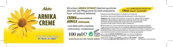 Bild von Unterweger - Arnika Creme - Mit echtem Arnika-Extrakt - 100 ml