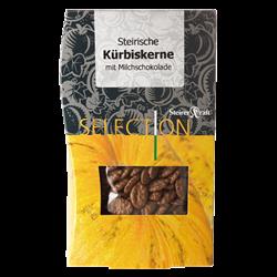 Bild von Steirerkraft - Steirische Kürbiskerne Milchschokolade Selection - 100 g