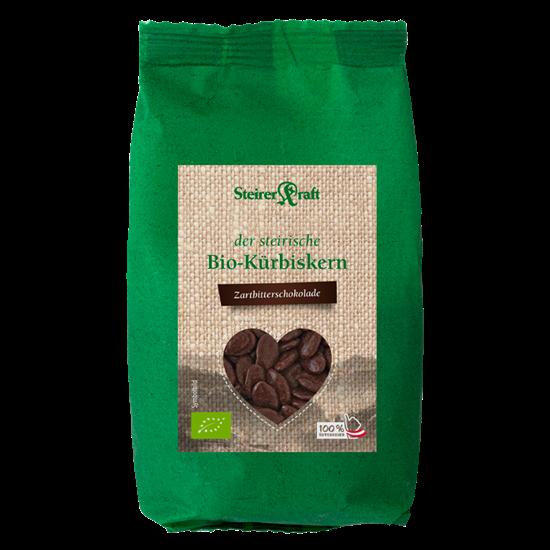 Bild von Steirerkraft - Steirische Kürbiskerne Zartbitter-Schokolade BIO - 100 g