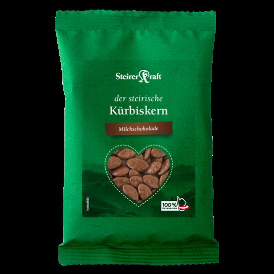 Bild von Steirerkraft - Steirische Kürbiskerne Milchschokolade Premium - 40 g
