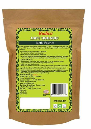 Bild von Radico - Methi Kräuterpflegepackung für das Haar - 100 g
