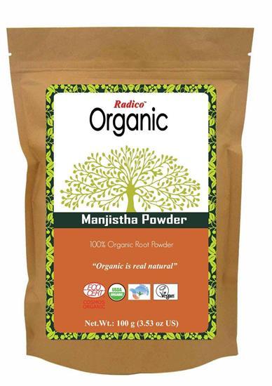 Bild von Radico - Manjistha Kräuterpflegepackung für das Haar - 100 g