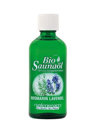 Bild von Unterweger - Bio Saunaöl Rosmarin Lavendel - Mit reinen ätherischen Ölen - 100 ml