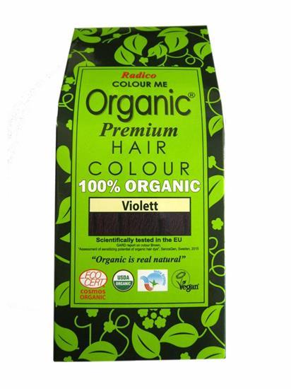 Bild von Radico Colour Me - Organic Pflanzenhaarfarbe - Violett - 100 g