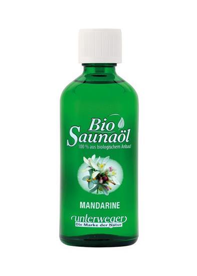 Bild von Unterweger - Bio Saunaöl Mandarine - Mit reinen ätherischen Ölen - 100 ml