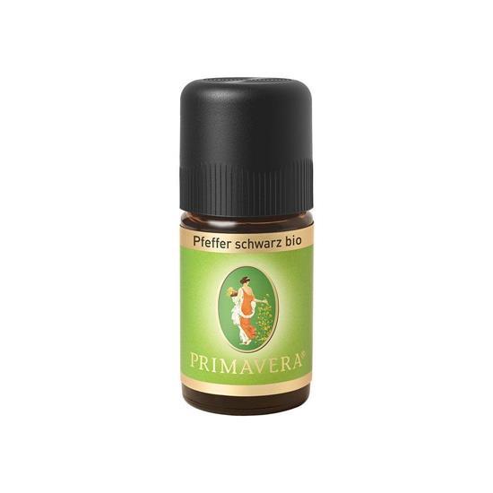 Bild von Primavera - Ätherisches Öl - Pfeffer Schwarz bio - 5 ml