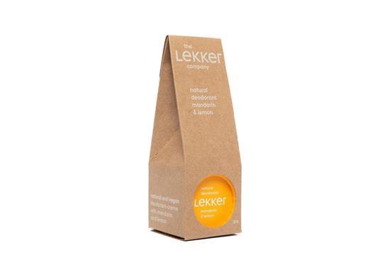 Bild von The lekker company - Deodorant - Mandarine & Zitrone - 30 g