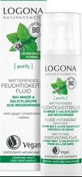 Bild von Logona Naturkosmetik - Purify - Mattierendes Feuchtigkeitsfluid - 30 ml