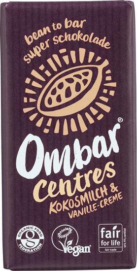 Bild von Ombar - BIO Rohschokolade mit Vanille & Kokosmilch - Vegan - 35 g