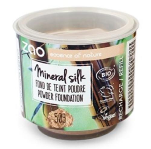 Bild von Zao - Refill - Nachfüllpackung - Mineralpuder - Mineral Silk - Nr. 509 / Sand-beige - 13,5 g