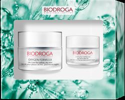 Bild von Biodroga Oxygen Formula Gift Set - 24h Pflege + Augenpflege