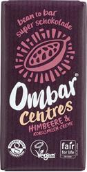 Bild von Ombar - Bio Rohschokolade mit Himbeere & Kokosnuss - Vegan - 35 g