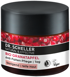 Bild von Dr. Scheller - Bio-Granatapfel - Anti-Falten Pflege / Tag - 50 ml