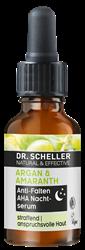 Bild von Dr. Scheller - Argan & Amaranth - Anti-Falten AHA Nachtserum - 15 ml