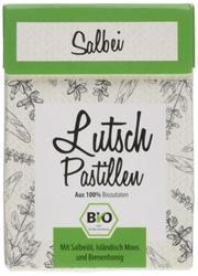 Bild von ARIES - Bio Salbei Lutschpastillen - Mit echtem Salbei-Öl und Isländisch Moos - 30 g