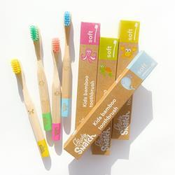 Bild von Powdy and Snatch - Bambus Kinder Zahnbürste - Weich