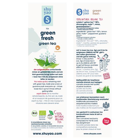 Bild von Shuyao - Grüner Tee Green Tea Set Refill - 250 g