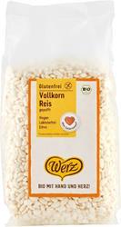 Bild von Werz - Vollkorn Reis gepufft Bio - 125 g